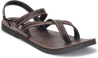 Paduki Men Brown Sandals  available at flipkart for Rs.199