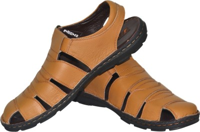Jenfars Men Tan Sandals at flipkart