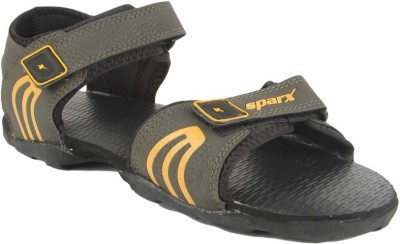 Sparx Men Olive Yellow Sandals  available at flipkart for Rs.474
