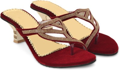 STAR STYLE Women Red Heels STAR STYLE Heels