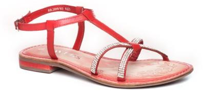 Pavers England Women RED Flats