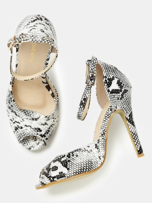 Dressberry Women White Heels at flipkart