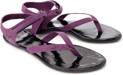 689360835fe Puma 30480203 Women Purple And Black Glady Sandals - Best Price ...
