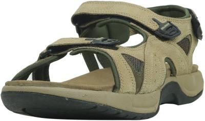 Woodland Men KHAKI Sports Sandals at flipkart