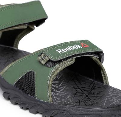 Reebok Men PRIMAL GREEN/BLACK Sports Sandals