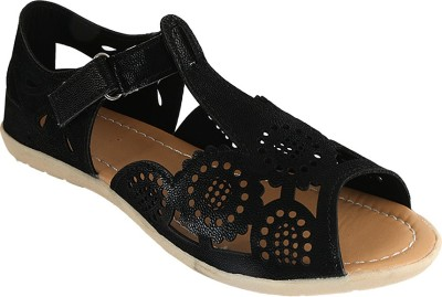Gracetop Girls Mule(Slip ons)(Black)