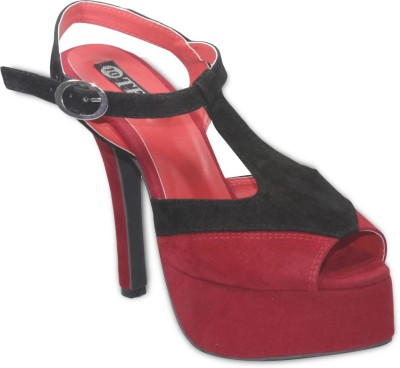 TEN Women Red Heels