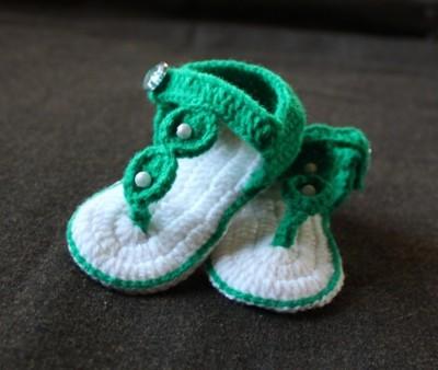 Cross Knitt Girls Flats