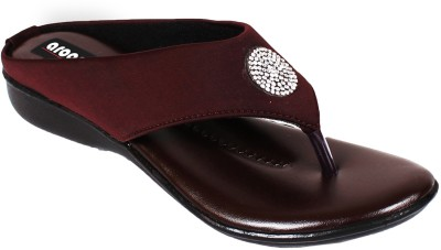 Aroom Women Brown Flats