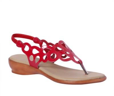 Pantof Girls Wedges(Red)