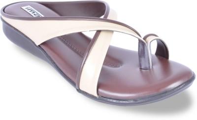 Imac Women Brown Flats