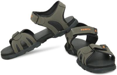 Power Men Green Sports Sandals at flipkart