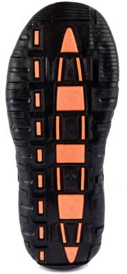 Corpus Men Black::Orange Sandals