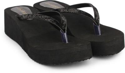 Shoetopia Women Black Wedges Shoetopia Wedges