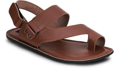 Get Glamr Men Brown Sandals at flipkart