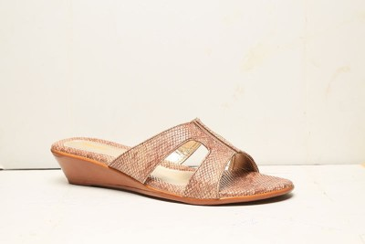 Bata Women Brown Wedges at flipkart