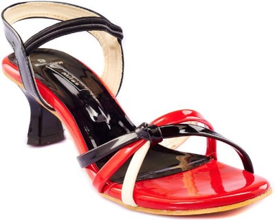 Dolphin Miles Women Red Heels  available at flipkart for Rs.399