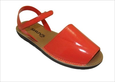 47% OFF on Shuvs Girls Sports Sandals(Orange) on Flipkart ...