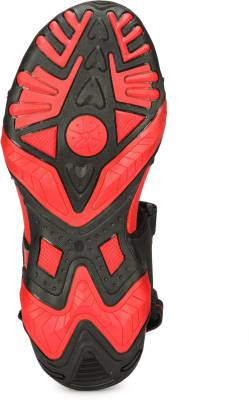 Corpus Men Black::Red Sandals