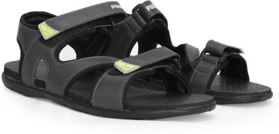 Puma Men Asphalt-Puma Black Sports Sandals at flipkart