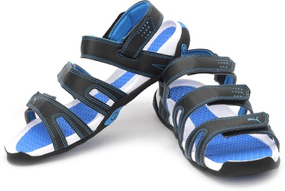 d5eae787e8f6 Puma 30482804 Men Black And Blue Aripon Ii Sports Sandals- Price in India