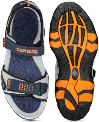Corpus Men Blue::Orange Sandals
