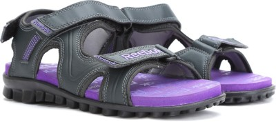 4de72ac509b5 Reebok Women GRAVEL PURPLE GREY BLK Sports Sandals available at Flipkart  for Rs