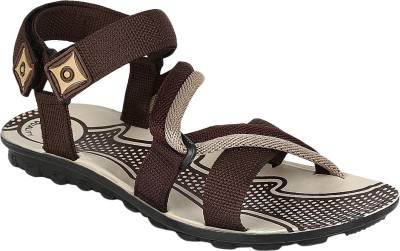 Oricum Men Brown & Grey Sports Sandals  available at flipkart for Rs.198