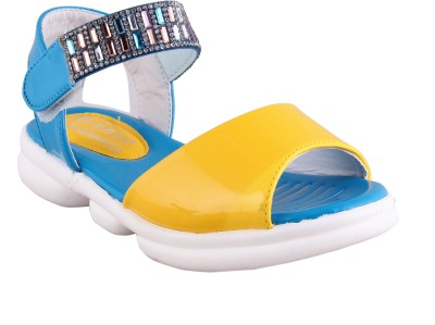 FabSeasons Boys & Girls Sports Sandals(Blue)