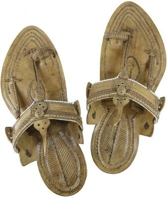 eKolhapuri Men Tan Sandals at flipkart
