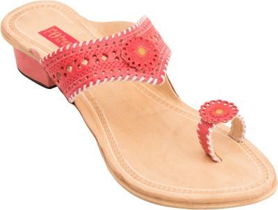 Footrendz Women Pink Heels Footrendz Heels