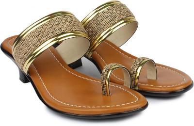 Shezone Women Beige Heels Shezone Heels