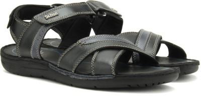 Scholl Men Black Sports Sandals at flipkart