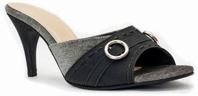 Azores Women Black Heels at flipkart