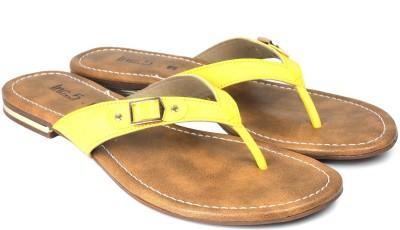 Inc.5 Women Yellow Flats
