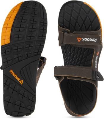 14de59e96a259c Reebok Men STONE GRAVEL NACHO BLACK Sports Sandals