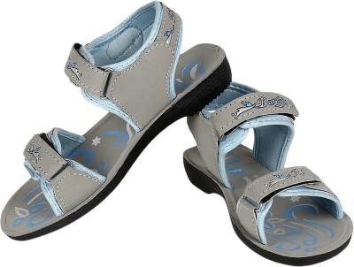 Bersache Women Grey Sports Sandals