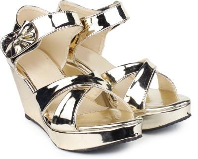 Do BhaiWomen Multicolor Wedges Sandal