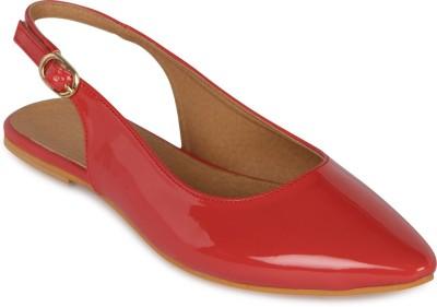 FLORA Women Red Flats