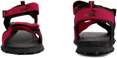 Puma Men Black - red Sports Sandals | Kenyt