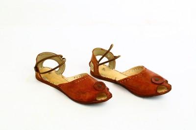 BAE Girls Flats(Brown)