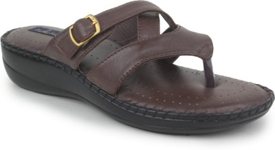 Funku Fashion Women Brown Wedges at flipkart