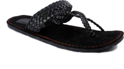 Tripssy Men Black Sandals at flipkart