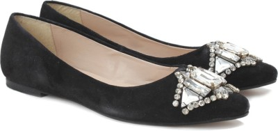 Carlton London Bellies(Black) at flipkart