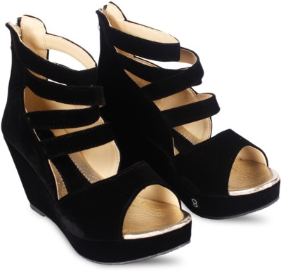Anand Archies Girls Heels(Black)