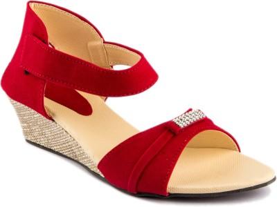 WOMENS CLUB Girls Sports Sandals(Red