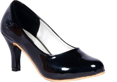 Sapatos Women ST-004-Black Heels Flipkart