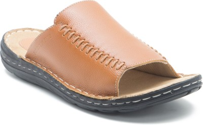 Red Tape Men Tan Sandals at flipkart
