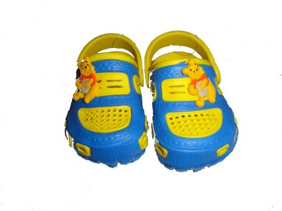 Pu Assma Boys & Girls Clogs(Yellow)