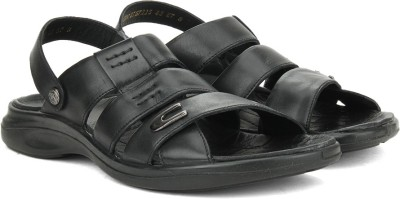 Woodland Men BLACK Sports Sandals at flipkart